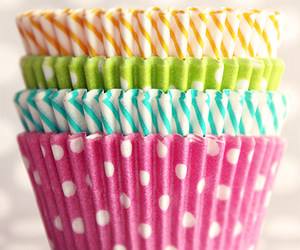 cupcake, pink, and colorful image