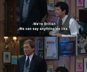 funny, british, and the nanny image