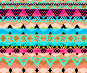 art, patterns, and aztec image