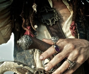 art, film, and jack sparrow image