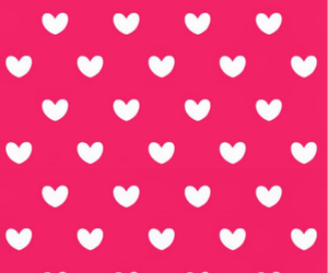 pink hearts white love image