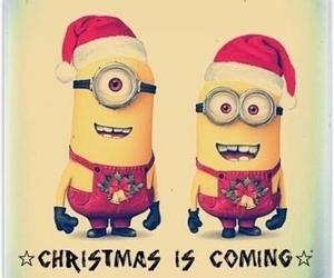 minions, christmas, and coming image