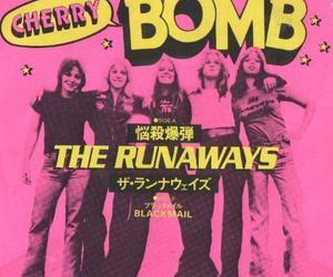 the runaways, pink, and cherry bomb image