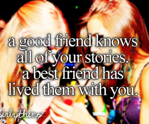 best friends, difference, and just girly things image