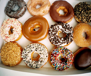 colorful, donut, and donuts image
