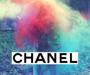 blue, brand, and chanel image