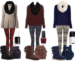 outfits, winter, and love image