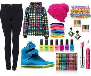 colorful, Polyvore, and colour image