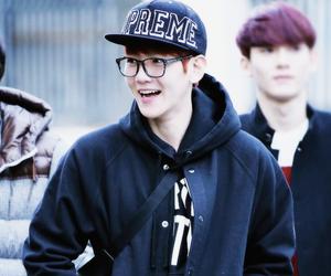 baekhyun, exo, and smile image