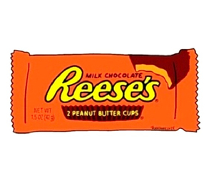 candy, transparent, and reese's image