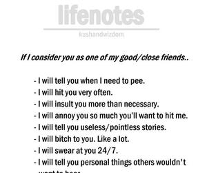 best friend, friend, and quotes image