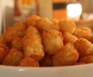 food, tots, and tater tots image