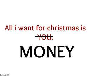 money, christmas, and you image