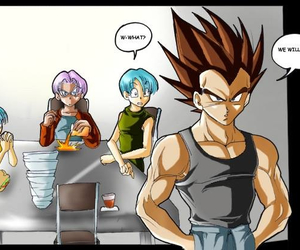 bra, bulma, and funny image
