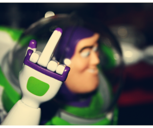 buzz lightyear, fuck, and love image