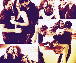 evangeline lilly, james ford, and Josh Holloway image