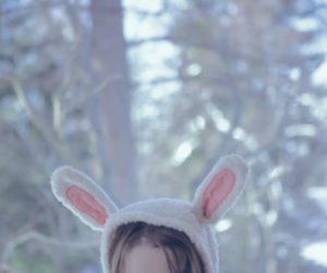 bunny ears, ears, and children image