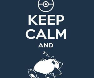 keep calm, sleep, and pokemon image