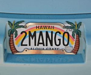 hawaii, rainbow, and mango image
