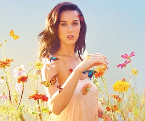 flowers, katy perry, and prism image