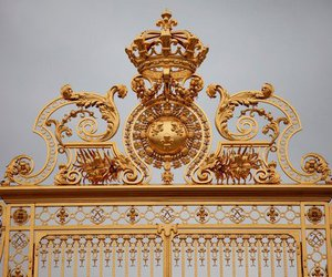gate and gold image