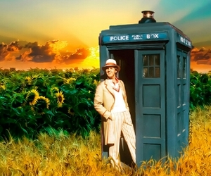 doctor who, tardis, and doctor five image