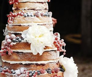 amazing, rustic, and cake image