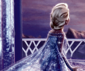 frozen, moody, and elsa image