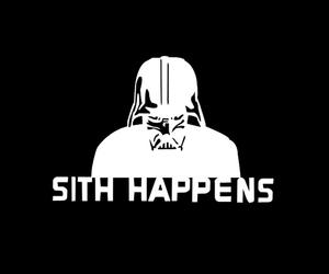 star wars, black and white, and funny image
