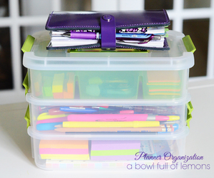 box, filofax, and organised image