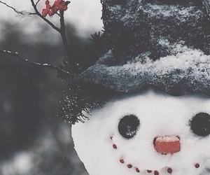 christmas, nose, and scarf image