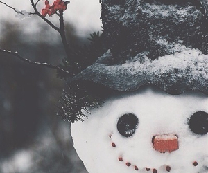 christmas, winter, and eyes image