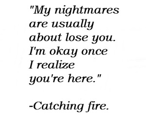 books, nightmare, and catching fire image