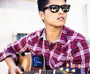 bruno mars, guitar, and music image