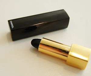 lipstick, chanel, and black image