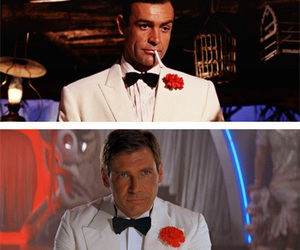 actor, harrison ford, and James Bond image