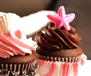 cake, dark, and desserts image