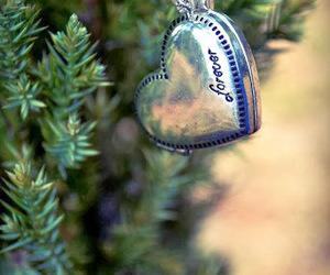 christmas, christmas tree, and heart image