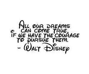 quotes, words, and walt disney image
