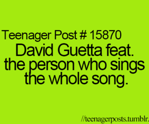 david guetta, teenager post, and funny image