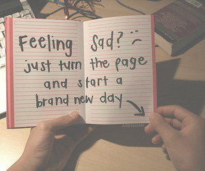 sad, quotes, and book image