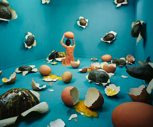 art and eggs image
