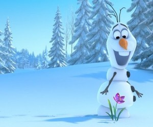 flower, frozen, and movies image