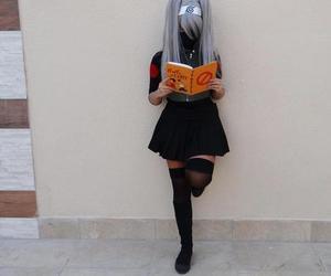 anime, cosplay, and kakashi image