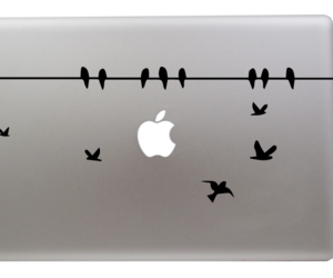 decal, macbook, and sticker image