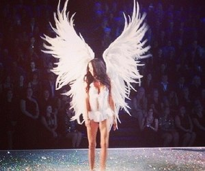 angel, Adriana Lima, and model image