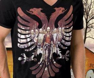 albanian, t shirt, and shqip image