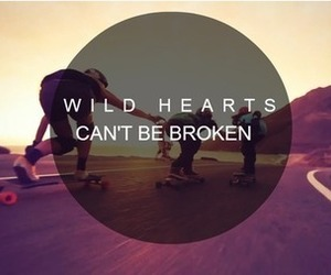 quote, wild, and love image