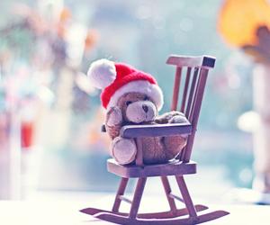 bear, christmas, and teddy image