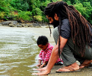 dreads, child, and rasta image